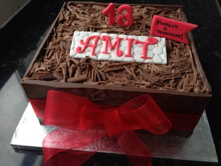 Amit's 13th Birthday Cake